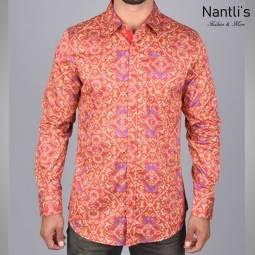 Nantlis Camisa DPL6194 Mens Long Sleeve Shirt