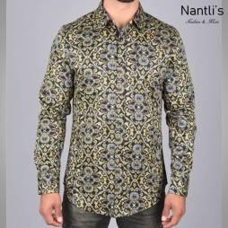 Nantlis Camisa DPL6195 Mens Long Sleeve Shirt
