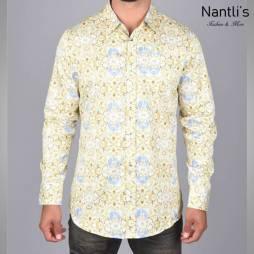 Nantlis Camisa DPL6196 Mens Long Sleeve Shirt