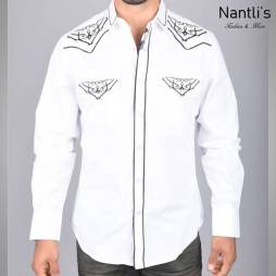 Nantlis Camisa ECL5634 Mens Long Sleeve Shirt