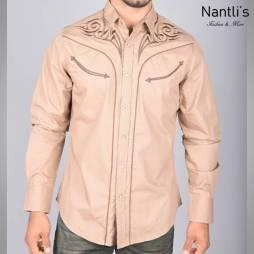 Nantlis Camisa ECL5636 Mens Long Sleeve Shirt