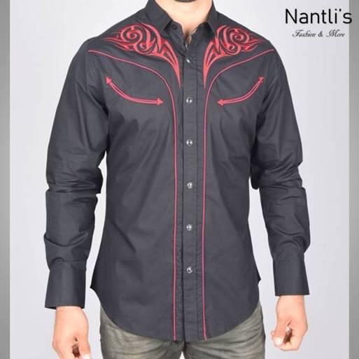 Nantlis Camisa ECL5637 Mens Long Sleeve Shirt