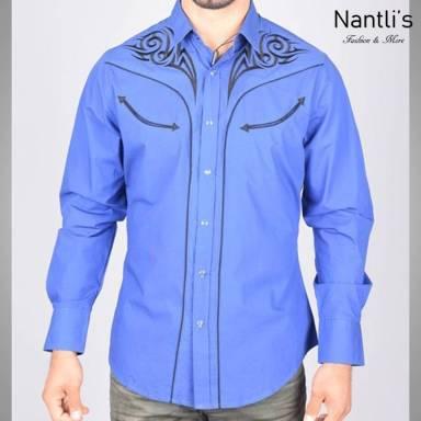 Nantlis Camisa ECL5638 Mens Long Sleeve Shirt