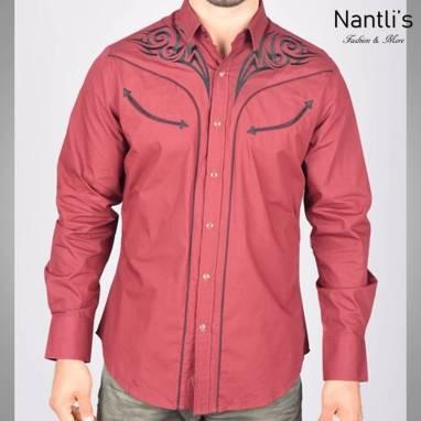 Nantlis Camisa ECL5639 Mens Long Sleeve Shirt