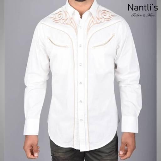 Nantlis Camisa ECL5640 Mens Long Sleeve Shirt