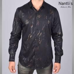 Nantlis Camisa FPL5982 Mens Long Sleeve Shirt