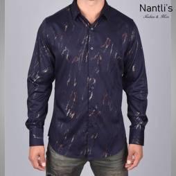 Nantlis Camisa FPL5983 Mens Long Sleeve Shirt