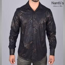 Nantlis Camisa FPL6064 Mens Long Sleeve Shirt