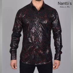 Nantlis Camisa FPL6302 Mens Long Sleeve Shirt