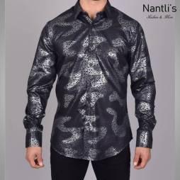 Nantlis Camisa FPL6306 Mens Long Sleeve Shirt
