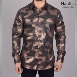 Nantlis Camisa FPL6307 Mens Long Sleeve Shirt