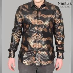Nantlis Camisa FPL6309 Mens Long Sleeve Shirt