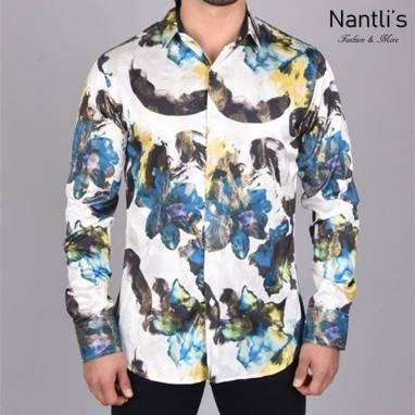 Nantlis Camisa FPL6320 Mens Long Sleeve Shirt