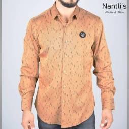 Nantlis Camisa FSL5832 Mens Long Sleeve Shirt