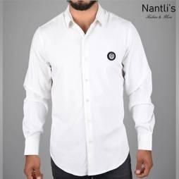 Nantlis Camisa FSL5833 Mens Long Sleeve Shirt