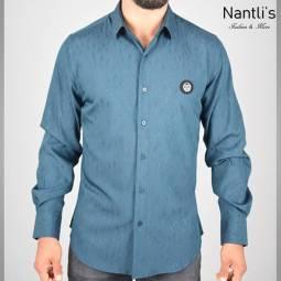 Nantlis Camisa FSL5834 Mens Long Sleeve Shirt