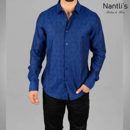 Nantlis Camisa JQL5064 Mens Long Sleeve Shirt