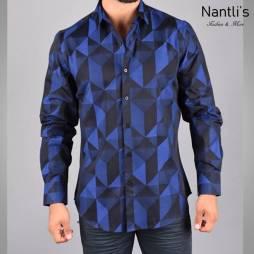 Nantlis Camisa JQL5268 Mens Long Sleeve Shirt