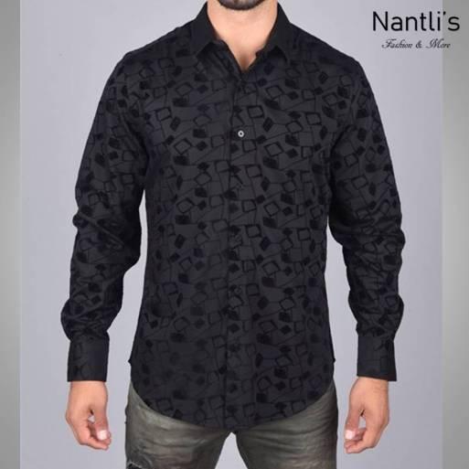 Nantlis Camisa MFL5980 Mens Long Sleeve Shirt