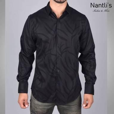 Nantlis Camisa MFL6069 Mens Long Sleeve Shirt