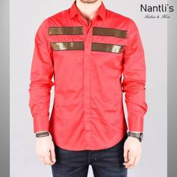 Nantlis Camisa RHL5487 Mens Long Sleeve Shirt