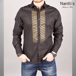 Nantlis Camisa RHL5611 Mens Long Sleeve Shirt