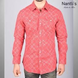 Nantlis Camisa WPL5759 Mens Long Sleeve Shirt
