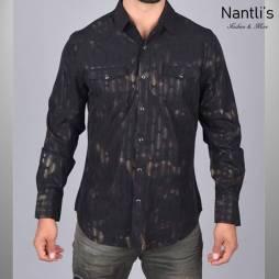 Nantlis Camisa WPL5948 Mens Long Sleeve Shirt