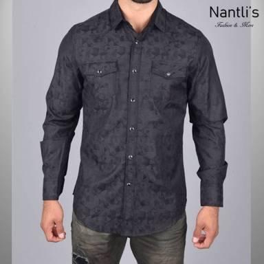 Nantlis Camisa WSL6040 Mens Long Sleeve Shirt