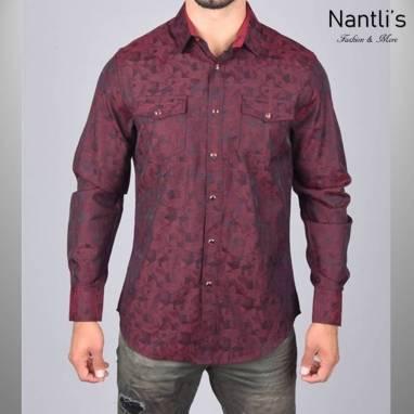 Nantlis Camisa WSL6041 Mens Long Sleeve Shirt