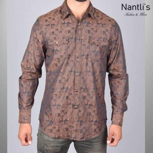 Nantlis Camisa WSL6042 Mens Long Sleeve Shirt