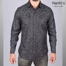 Nantlis Camisa WSL6043 Mens Long Sleeve Shirt