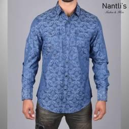 Nantlis Camisa WSL6044 Mens Long Sleeve Shirt