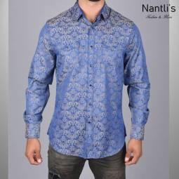Nantlis Camisa WSL6045 Mens Long Sleeve Shirt