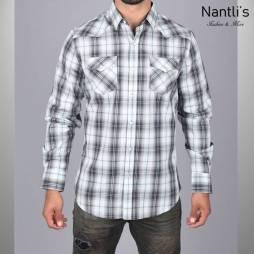 Nantlis Camisa WSL6158 Mens Long Sleeve Shirt