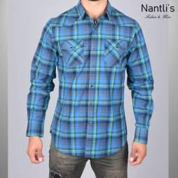 Nantlis Camisa WSL6159 Mens Long Sleeve Shirt