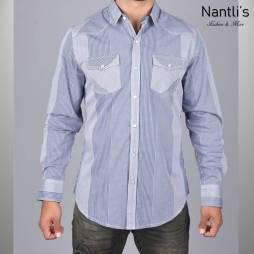 Nantlis Camisa WSL6164 Mens Long Sleeve Shirt