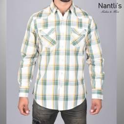 Nantlis Camisa WSL6167 Mens Long Sleeve Shirt
