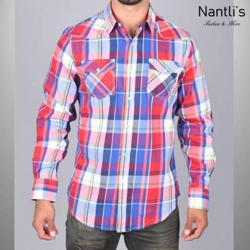 Nantlis Camisa WSL6168 Mens Long Sleeve Shirt