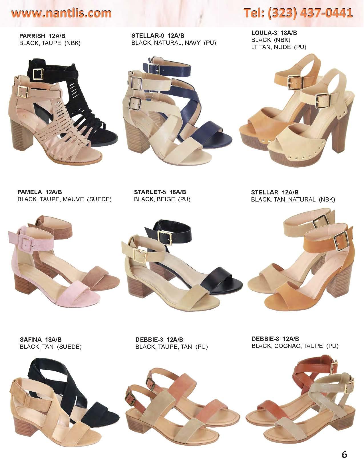 e25f124b Nantlis Catalogo Zapatos de Mujer mayoreo Vol 1 Wholesale womens  Shoes_Page_07