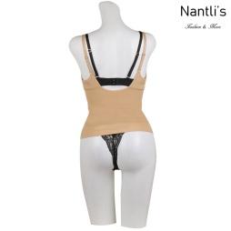 Nantlis YM8059 nude faja camisola Shapewear camisole back