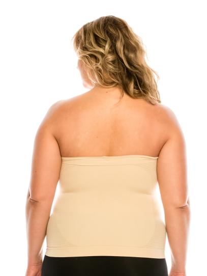 Nantlis YM82011Q-nude faja blusa convertible falda control cintura Shapewear blouse control waist Convertible underskirt Back