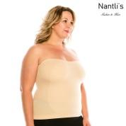Nantlis YM82011Q-Beige faja blusa convertible falda control cintura Shapewear blouse control waist Convertible underskirt Front