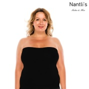 Nantlis YM82011Q Black faja blusa convertible falda control cintura Shapewear blouse control waist Convertible underskirt Front