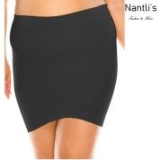 Nantlis YM82011Q Black faja falda control cintura convertible blusa Shapewear underskirt control waist Convertible blouse Front