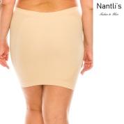 Nantlis YM82011Q Nude faja falda control cintura convertible blusa Shapewear underskirt control waist Convertible blouse Back