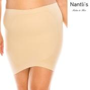 Nantlis YM82011Q Nude faja falda control cintura convertible blusa Shapewear underskirt control waist Convertible blouse Front