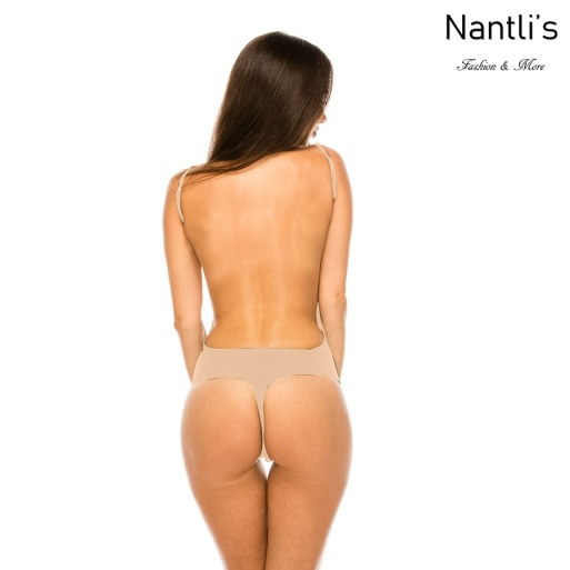 Nantlis YMBS60005 Nude faja leotardo Body shaper suit back