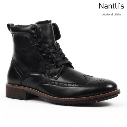 SL-B742 black Zapatos por Mayoreo Wholesale mens shoes Nantlis Santino Luciano Shoes