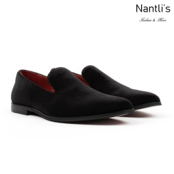 SL-C351 Black Zapatos por Mayoreo Wholesale mens shoes Nantlis Santino Luciano Shoes